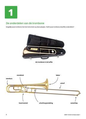 Samen Leren Samenspelen Trombone Bassleutel 1: Trombone