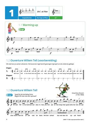 Samen Leren Samenspelen Deel 2: Soprano Saxophone