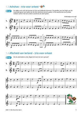 Samen Leren Samenspelen Deel 2: Alto Saxophone