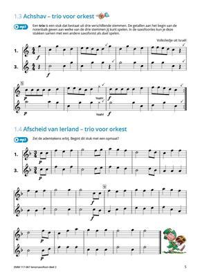 Samen Leren Samenspelen Deel 2: Tenor Saxophone