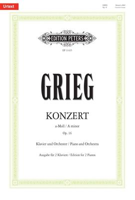Edvard Grieg: Piano Concerto A Minor Op. 16: Piano