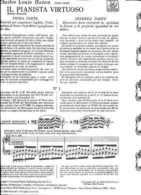Charles-Louis Hanon: Il pianista virtuoso: Piano