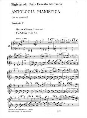 Antologia Pianistica Per La Gioventë - Fasc. V