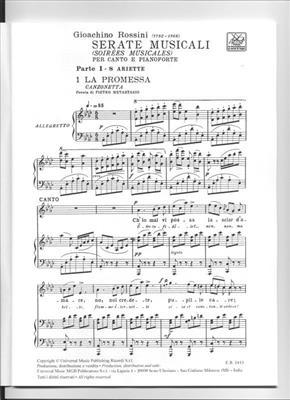 Gioachino Rossini: Serate Musicali - Volume 1: Voice