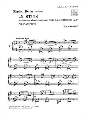 25 Studi Op. 47