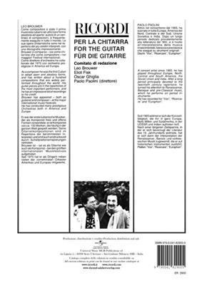 Leo Brouwer: Scale Per Chitarra: Guitar
