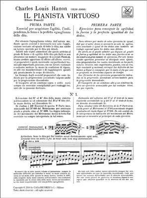 Charles-Louis Hanon: Il pianista virtuoso - Prima parte: Piano