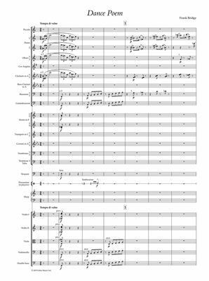 Frank Bridge: Dance Poem: Orchestra