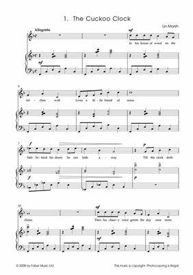 Lin Marsh: Serendipity Solos: Voice & Piano