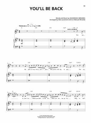 Lin-Manuel Miranda: Hamilton: Vocal