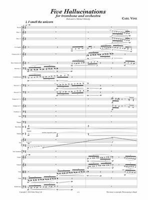 Carl Vine: Five Hallucinations: Trombone