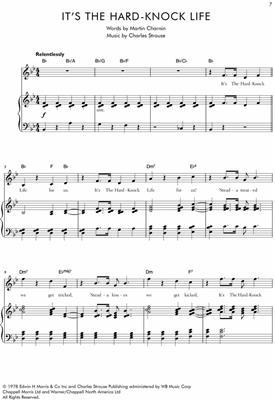 C. Strouse: Annie: Voice