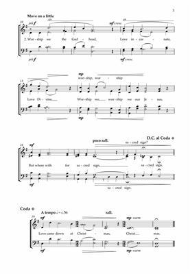 Alexander L'Estrange: Love Came Down at Christmas: Mixed Choir