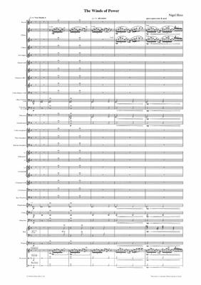 Nigel Hess: The Winds of Power: Concert Band