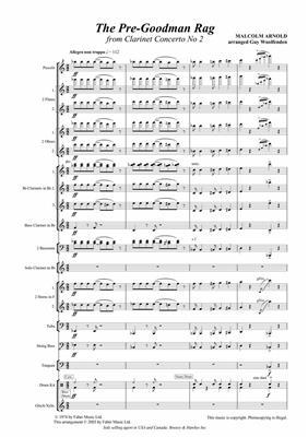 Malcolm Arnold: Pre-Goodman Rag. Wind band: Concert Band