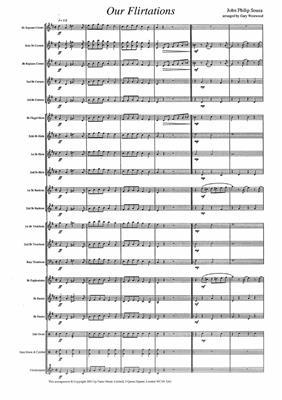 John Philip Sousa: Our Flirtations: Brass Band