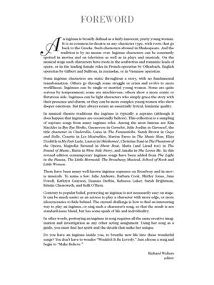 The Broadway Ingénue - Revised Edition: Vocal