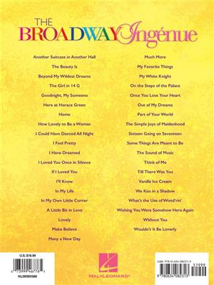 The Broadway Ingénue - Revised Edition: Soprano