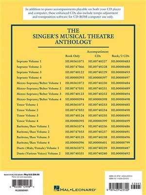 Singer's Musical Theatre Anthology - Volume 2: Vocal