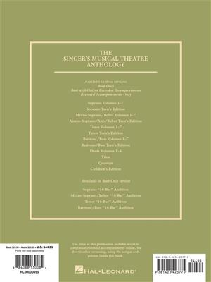 Singer's Musical Theatre Anthology - Volume 3: Vocal