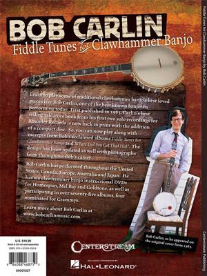 Bob Carlin: Fiddle Tunes For Clawhammer Banjo: Banjo