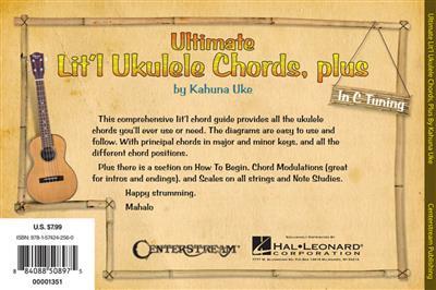 Ultimate Lit'l Ukulele Chords, Plus