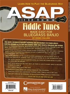 Asap Fiddle Tunes Made Easy For Bluegrass Banjo: Banjo or Mandolin