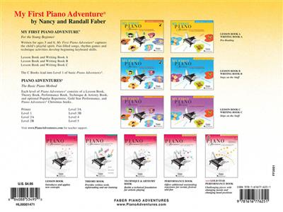 Nancy Faber: My First Piano Adventure Christmas - Book A: Piano or Keyboard