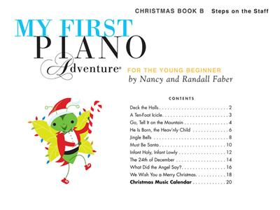 My First Piano Adventure Christmas - Book B