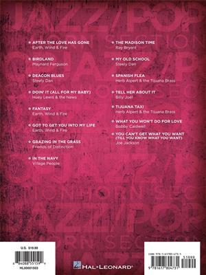 Jazz Pop Horn Section: Transcribed Horns: Wind Ensemble