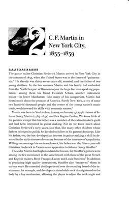 Philip F. Gura: Martin & His Guitars 1796-1873