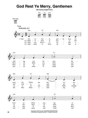 3-Chord Christmas Carols Ukulele: Ukulele