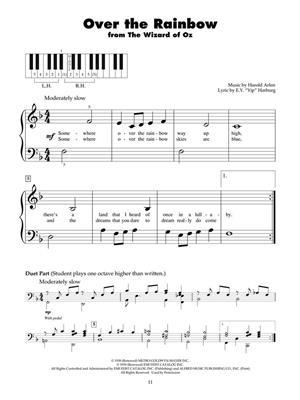 Over The Rainbow: Voice & Piano