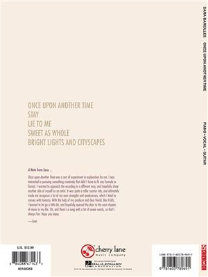Sara Bareilles: Sara Bareilles: Once Upon Another Time: Piano, Vocal and Guitar