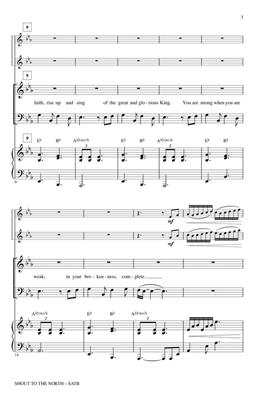 Martin Smith: Shout to the North: Arr. (James Koerts): SATB