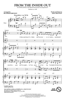 Joel Houston: From the Inside Out: Arr. (Heather Sorenson): SATB