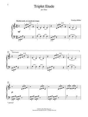 Carolyn Miller: Triplet Etude: Piano