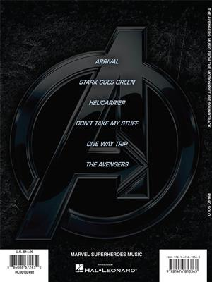 Alan Silvestri: The Avengers: Piano