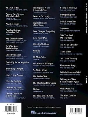 Andrew Lloyd Webber: The Songs of Andrew Lloyd Webber: Alto Saxophone
