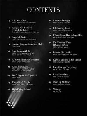 Andrew Lloyd Webber: The Songs of Andrew Lloyd Webber: Trumpet, Cornet or Flugelhorn