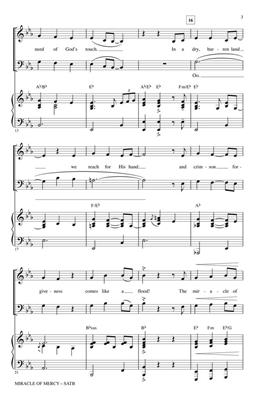Benjamin Gaither: Miracle of Mercy: Arr. (Marty Parks): SATB