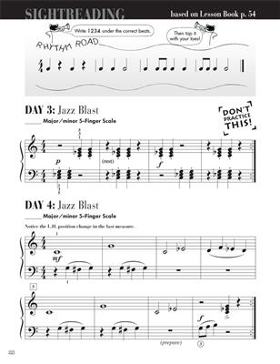 Nancy Faber: Piano Adventures Level 2A -  Sightreading Book: Piano or Keyboard