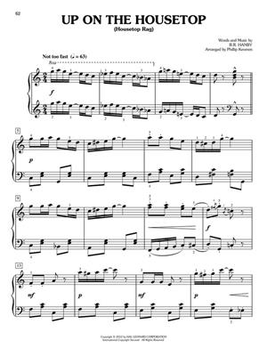 A Ragtime Christmas - 17 Yuletide Tunes: Arr. (Phillip Keveren): Easy Piano