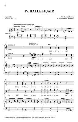 Rosephanye Powell: The Cry of Jeremiah: Organ
