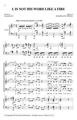 Rosephanye Powell: The Cry of Jeremiah: Orchestra