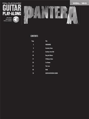 Pantera: Pantera: Guitar