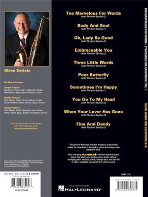 Glenn Zottola: Too Marvelous for Words, Vol. 1: Tenor Saxophone