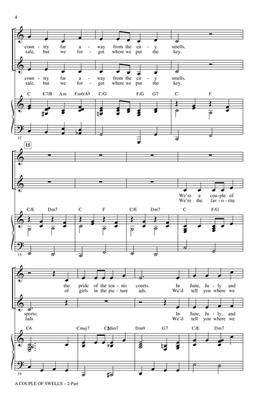Irving Berlin: A Couple of Swells: Arr. (Jill Gallina): Mixed Choir a Cappella