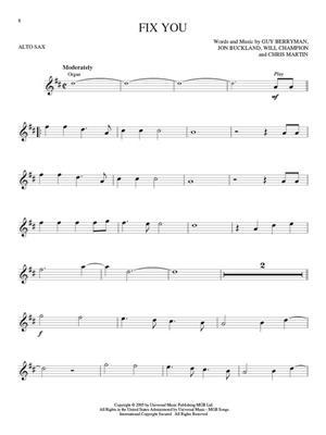 Coldplay: Coldplay - Alto Saxophone: Saxophone