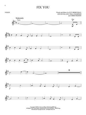 Coldplay: Coldplay - Violin: Violin